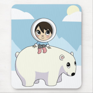 Lizzy and Frosting Mouse Pad