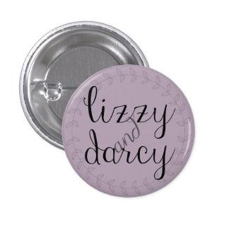 Lizzy & Darcy pin for Jane Austen fans.