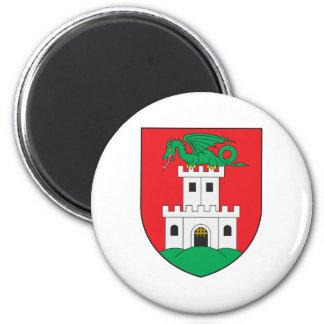 Ljubljana Coat Of Arms 6 Cm Round Magnet