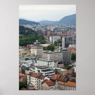 Ljubljana Slovenia Print