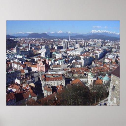 Ljubljana Slovenia Posters