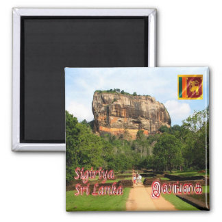LK - Sri Lanka - The Sigiriya rock fortress Magnet