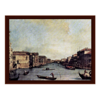 Ll Canal By Canaletto Postcards