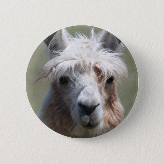 Llama 6 Cm Round Badge