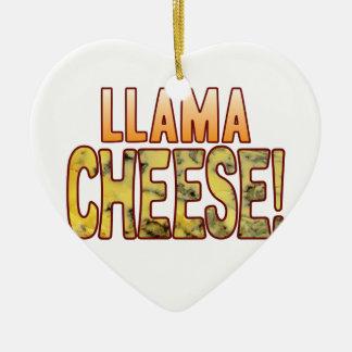 Llama Blue Cheese Christmas Ornament
