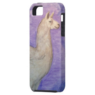 Llama Case - Original Watercolor Painting