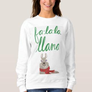 Llama Christmas sweaater Sweatshirt