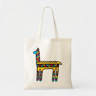 Llama-colors Tote Bag