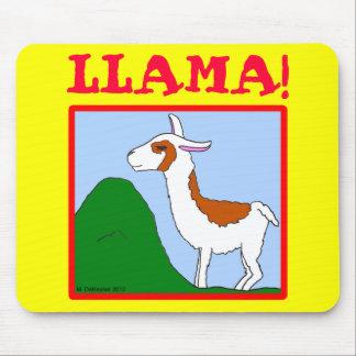 Llama! Design Mouse Mat