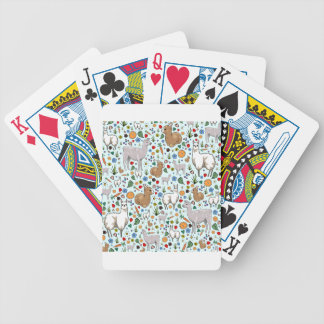 Llama Drama Bicycle Playing Cards