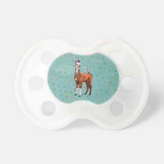 LLAMA & FEATHERS  Pacifier