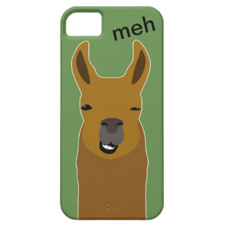 Llama Funny Face iPhone 5 Cover