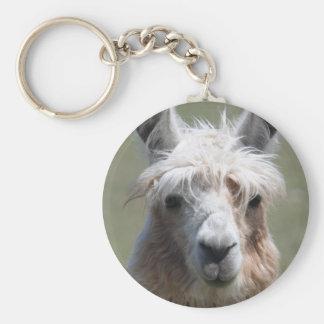 Llama Key Ring