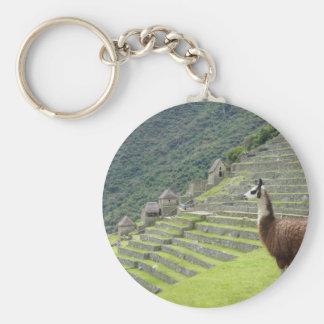 llama lands key ring