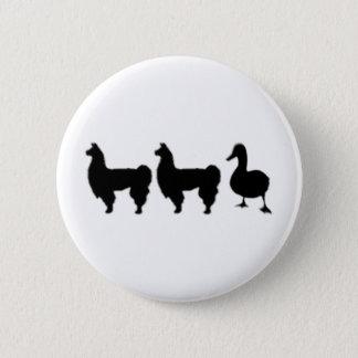 Llama Llama Duck 6 Cm Round Badge