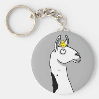 Llama Llama ...duck? Key Ring