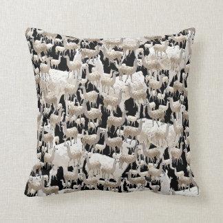 LLama, Llama, Llamas Cushion