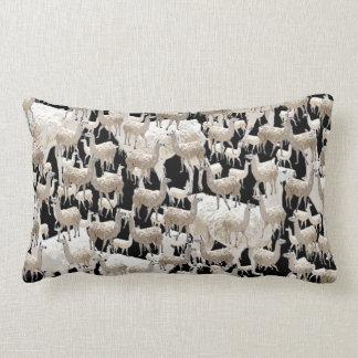 LLama, Llama, Llamas Lumbar Pillow