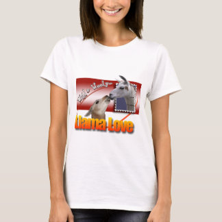 LLAMA LOVE - WILD AND WOOLEY! T-Shirt