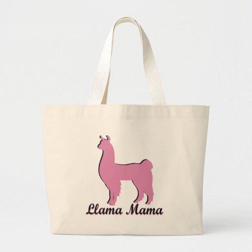 Llama Mama Canvas Bag