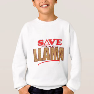Llama Save Sweatshirt