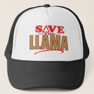 Llama Save Trucker Hat