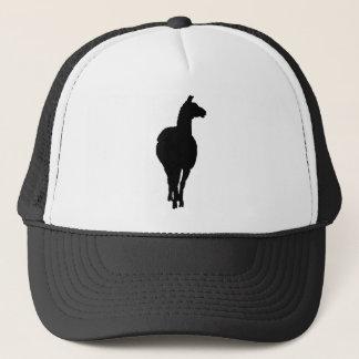 Llama Silhouette (front facing) Trucker Hat