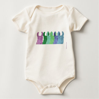 Llama Sweet Pea: The Wise Matriarch Llama Baby Bodysuit