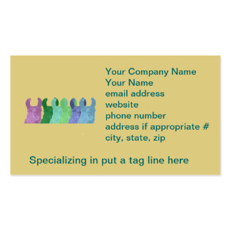 Llama Sweet Pea: The Wise Matriarch Llama Double-Sided Standard Business Cards (Pack Of 100)