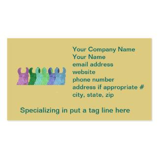 Llama Sweet Pea The Wise Matriarch Llama Business Card Template