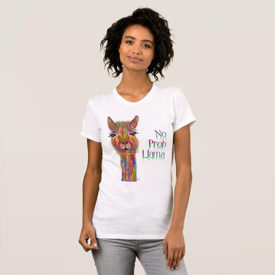Llama T-Shirt (You can Customise)