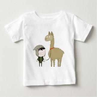 Llama walker baby T-Shirt