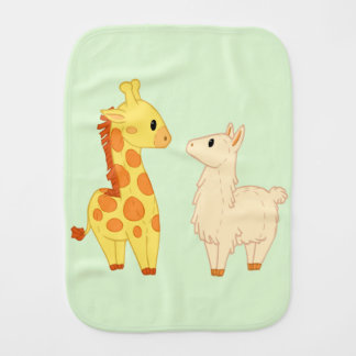 Llama Who? Burp Cloth