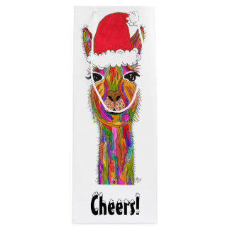 Llama Wine or Gift Bag (You can Customize)