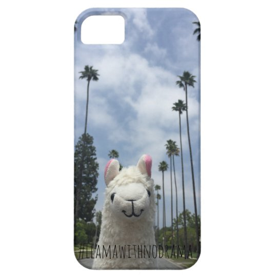 Llama With No Drama LA iPhone Case