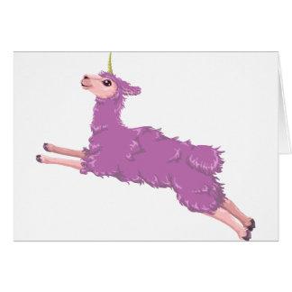 Llamacorn Card