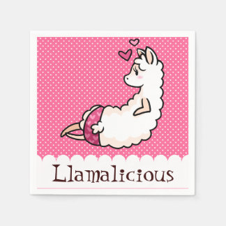 Llamalicious Disposable Napkins