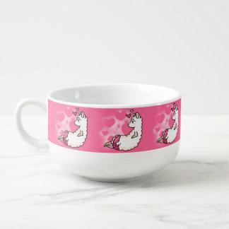 Llamalicious Soup Mug