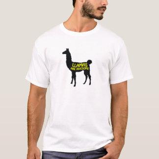 Llamas are awesome! T-Shirt