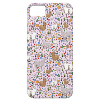 Llamas in Pink iPhone 5 Covers