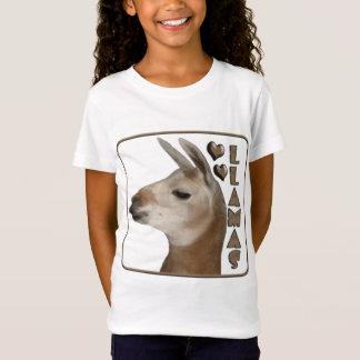 LLAMAS LOVE HEARTS T-Shirt