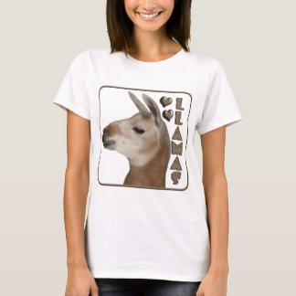 LLAMAS LOVE HEARTS T-Shirt