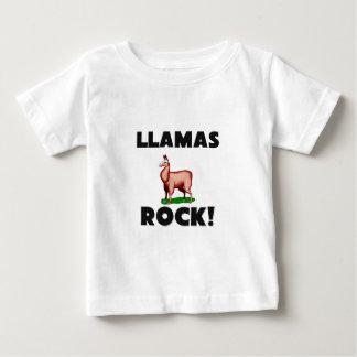 Llamas Rock Baby T-Shirt