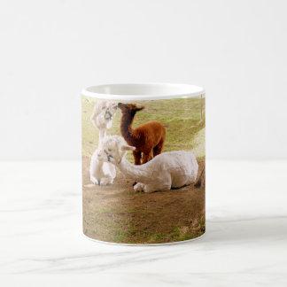 Llamas With Baby Cria Coffee Mug