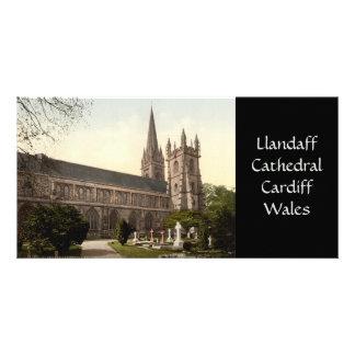 Llandaff Cathedral, Cardiff, Wales Custom Photo Card