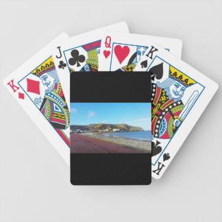 Llandudno, North Wales. Bicycle Playing Cards