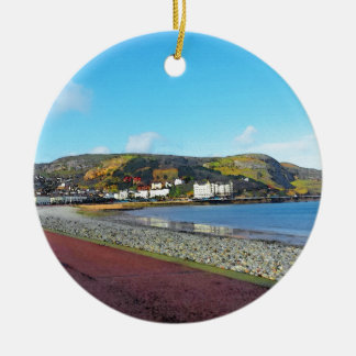 Llandudno, North Wales. Christmas Ornament