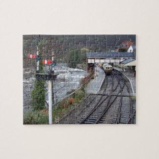 Llangollen train station. puzzle