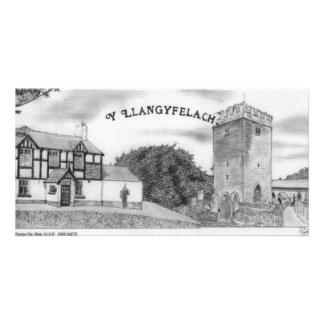 llangyfelach Church Custom Photo Card