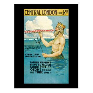 Lloyd Central London Railway Postcard